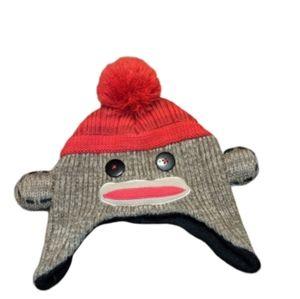 ☘️ sock Monkey knit hat